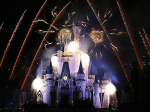 HalloWishes fireworks at Magic Kingdom #mnsshp